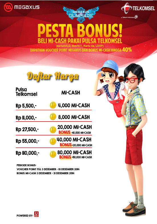 Pesta Bonus Telkomsel!