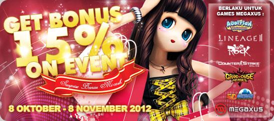 Dapatkan Bonus Mi-Cash 15% Pada Event Super Bonus Mi-cash